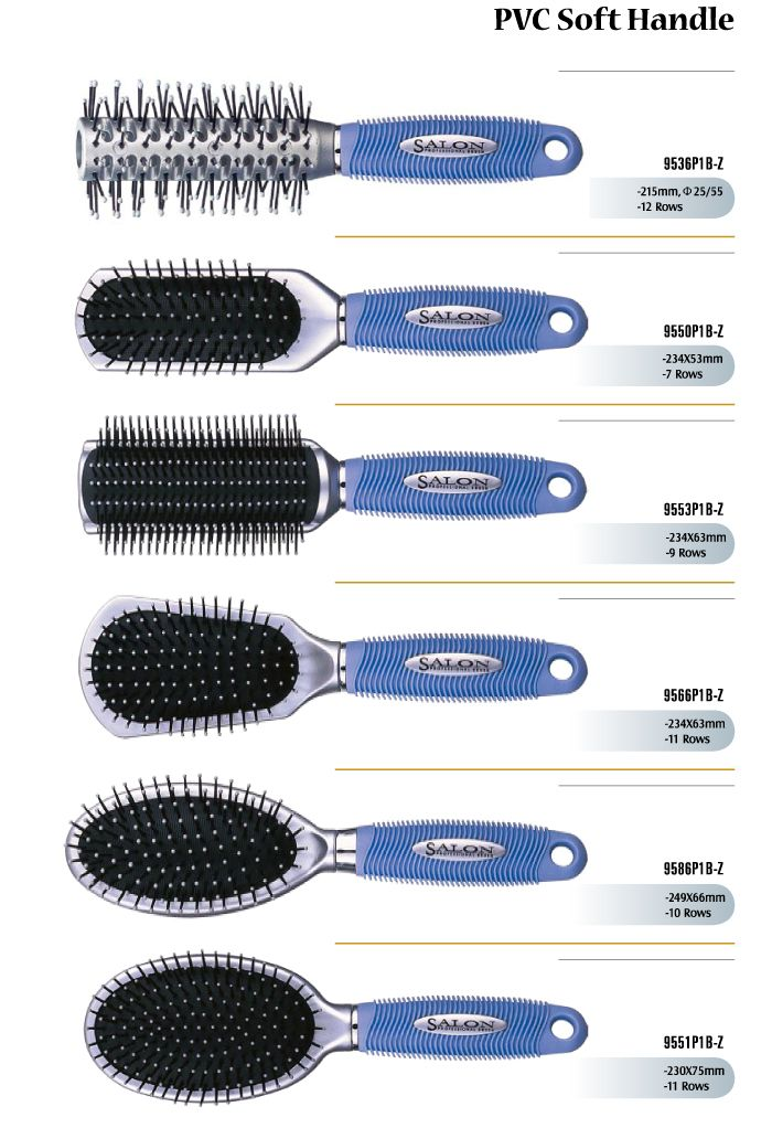 Pvc Handle Soft Hair Brushes Oem Factory For Toiletry