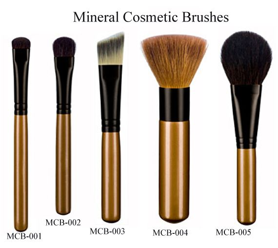 Mineral Make-up Brushes - OEM factory for Christmas toiletry ...
