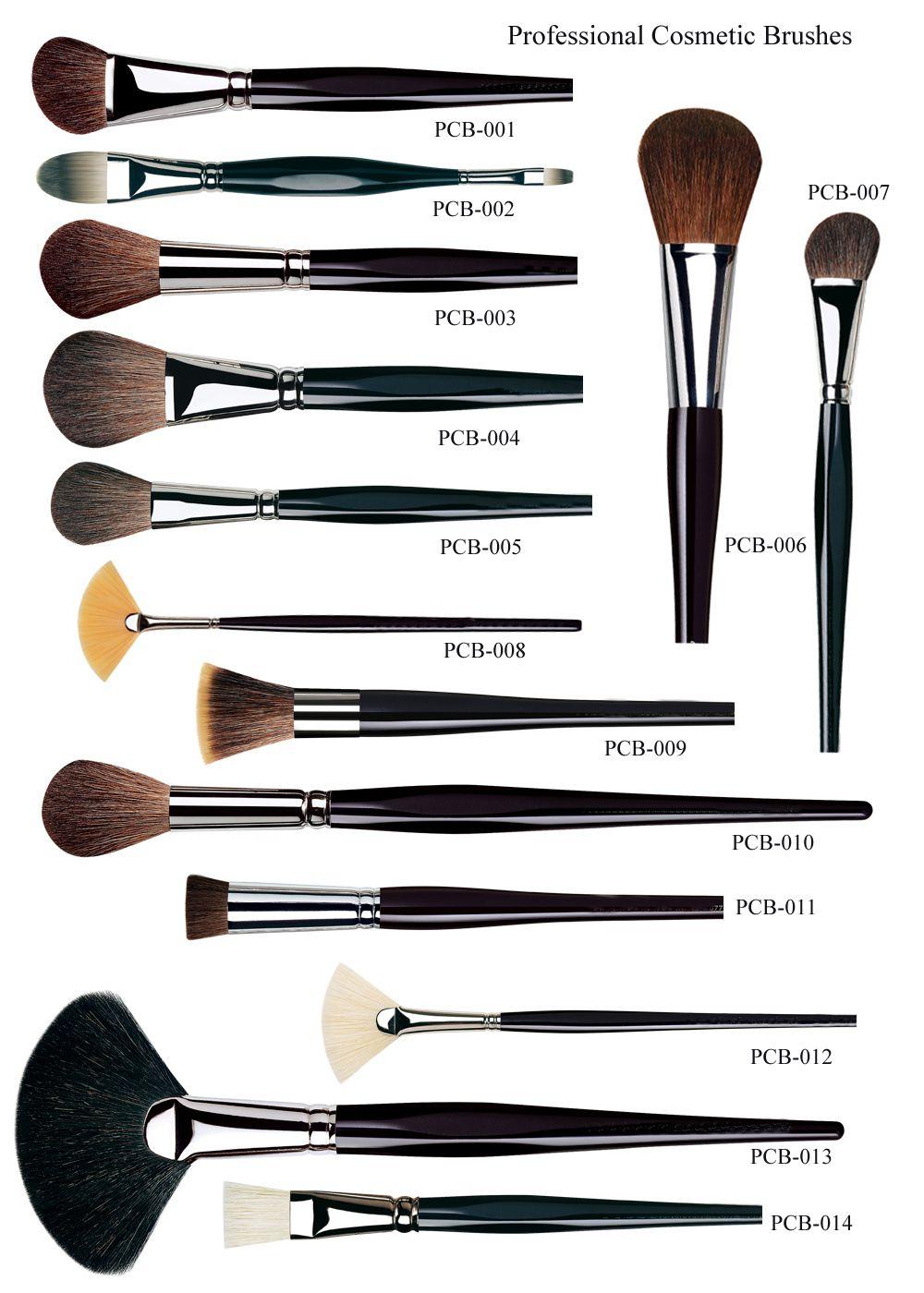 Кисточки для макияжа какая из них для чего